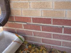 Home Inspection Centennial Colorado - Brick Cracking